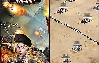 War of tanks: invasion