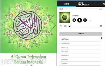 Alquran dan terjemah indonesia