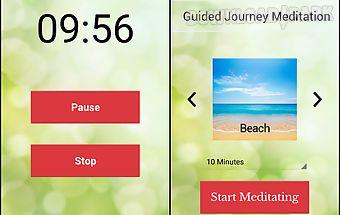 Guided journey meditation