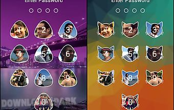 Passcode photo lock screen new