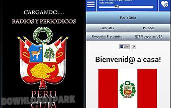 Peru guide radio news papers