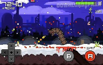 Super mega worm vs santa 2