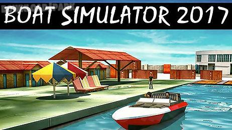 boat simulator 2017