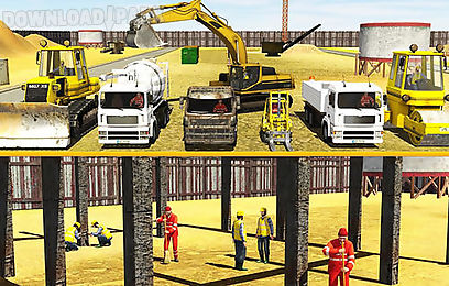 city builder: construction trucks sim
