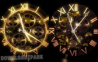 Clock work abstract