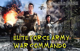 Elite force army war commando
