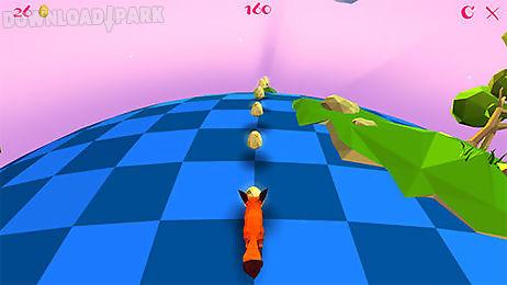 good morning fox: runner game