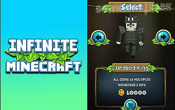 Infinite minecraft runner