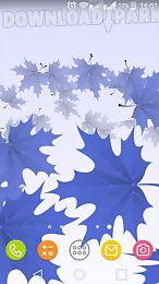 maple leaves 3d