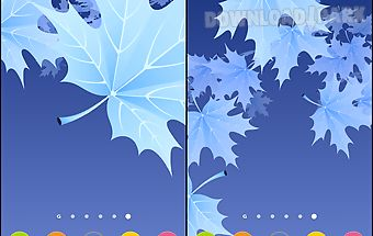 Maple leaves 3d
