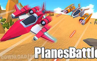 Planes battle