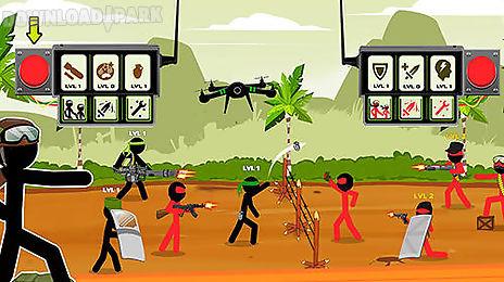 stickman army: team battle
