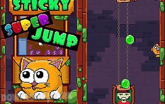 Super sticky jump