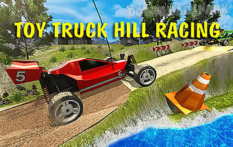 Toy truck hill racing 3d