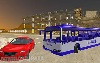 Bus driving 3d simulator