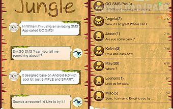 Go sms jungle theme