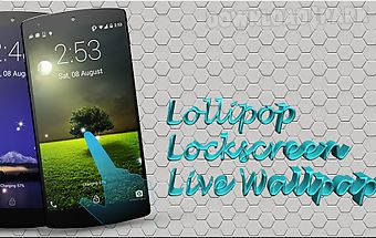 Lollipop lockscreen lwp