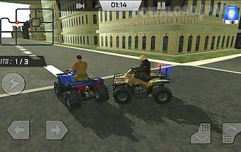 Police quad 4x4 simulator 3d