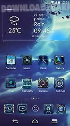 time leaps go launcher theme