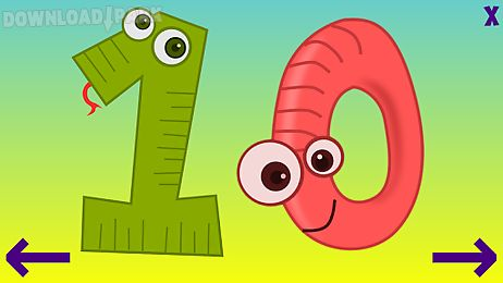 toddler abc numbers - english