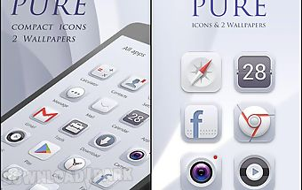 (free) pure go launcher theme