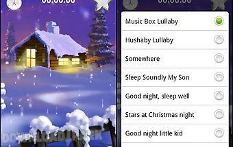 Baby sleep lullaby music box