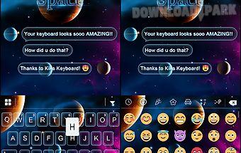 Infinity space keyboard theme