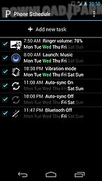 Phone Schedule Android App Free Download In Apk