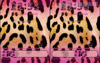 Pink leopard - go locker theme