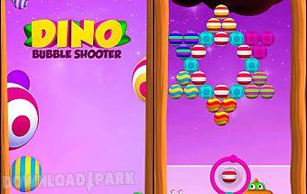Dino bubble shooter