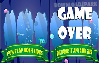 Flappy turtle for kids - tap and..