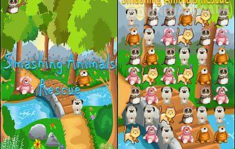 Smash animals rescue casual game..