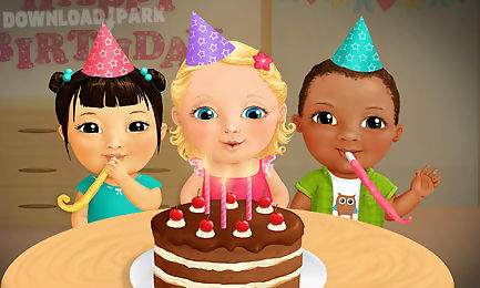 sweet baby girl - birthday party
