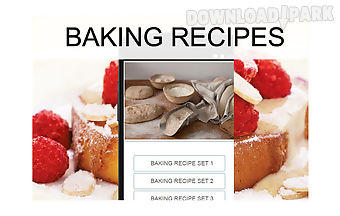 Baking recipes food
