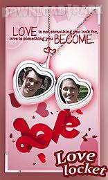 love locket photo frames