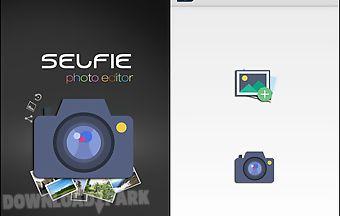 Selfie photo editer