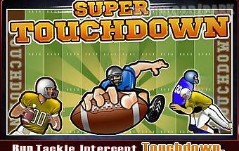 Super touchdown
