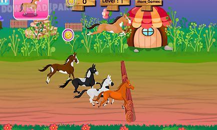 horse racing mania - girl game