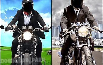Men moto photo suit 2016