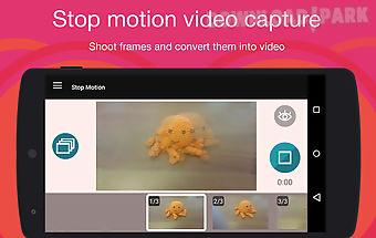 Stop motion cartoon maker