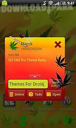 theme rasta for go sms pro