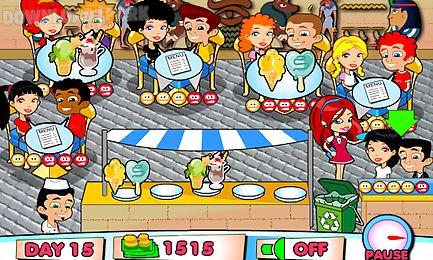 ice cream restaurant full
