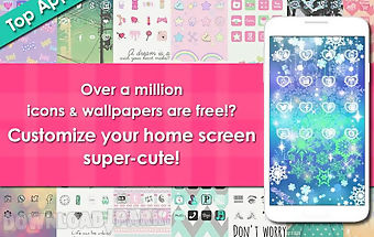 Icon wallpaper dressup❤cocoppa
