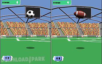 Juggle soccer