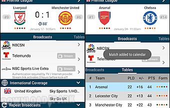 Live soccer tv schedules guide