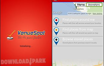Venuespot - wifi pass finder