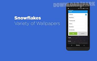 Snowflakes live wallpaper free