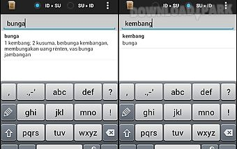 Sundanese dictionary