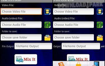 Video audio mixer pro