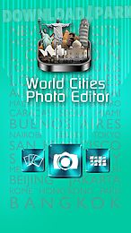 world cities photo editor